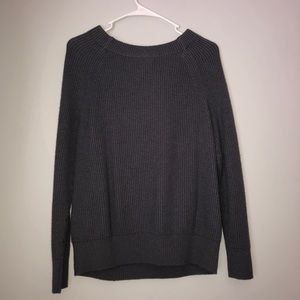 Banana Republic Gray Sweater with Bow in back